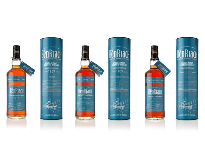 BenRiach single cask whiskies