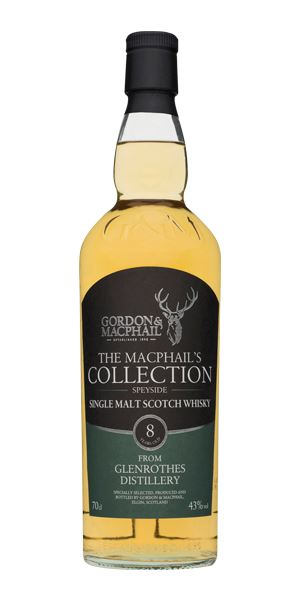 Glenrothes 8 Years Old, 'MacPhails Collection' (Gordon & MacPhail)