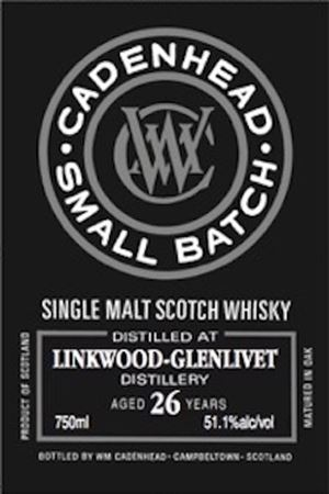Linkwood 26 Year Old Small Batch (Cadenhead)