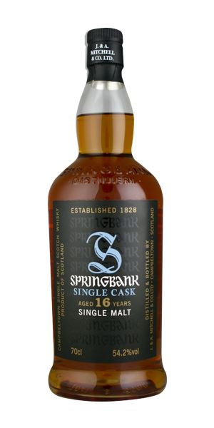 Springbank 16 Years Old, Fresh Sherry Single Cask