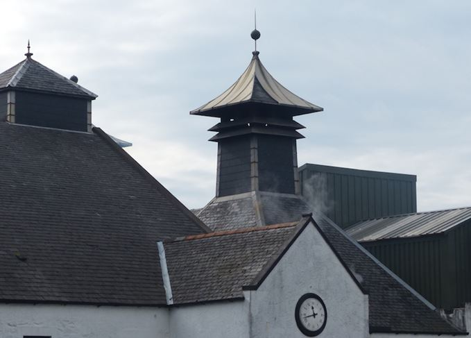 Scotch whisky distillery