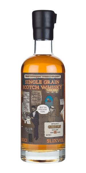 Girvan 52 Years Old, Batch 1 (That Boutiquey Whisky Co.)