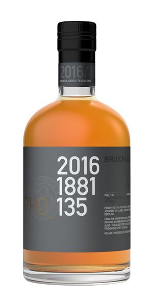 Bruichladdich Fèis Ìle 2016, 15 Years Old