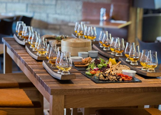 Taking off: restaurants with whisky flights | Scotch Whisky