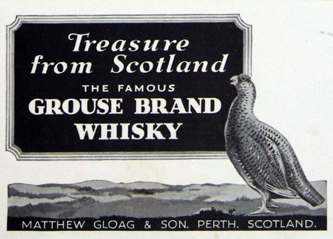 The Famous Grouse historic poster