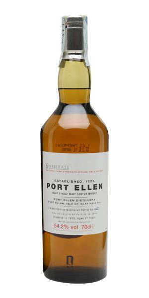 Port Ellen 1978,  27 Years Old, 6th Release