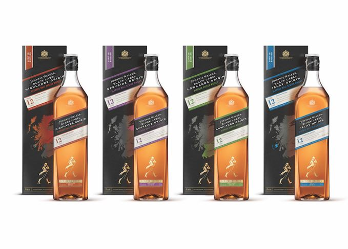 Johnnie Walker Black Label Origin unveiled | Scotch Whisky