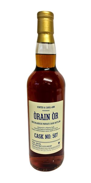 Bruichladdich 15 Years Old, Private Cask No. 507 (Òrain Òr)
