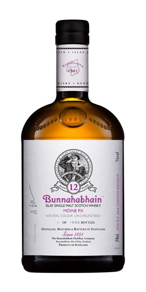 Bunnahabhain Moine 12 Years Old PX