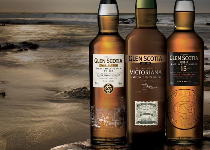 Glen Scotia Double Cask Glen Scotia 15 Year Old and Glen Scotia Victoriana