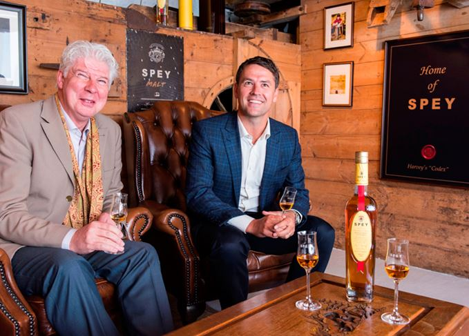 Speyside Distillers John McDonough and Michael Owen