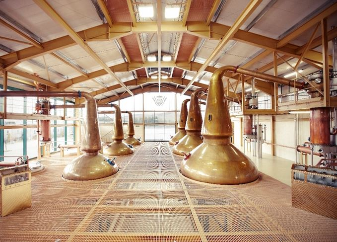 The Glenlivet stillhouse