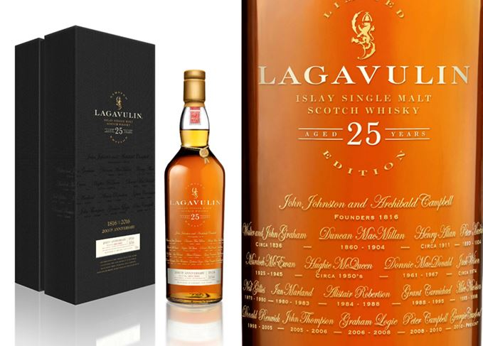 Lagavulin 25 Year Old 200th Anniversary Edition