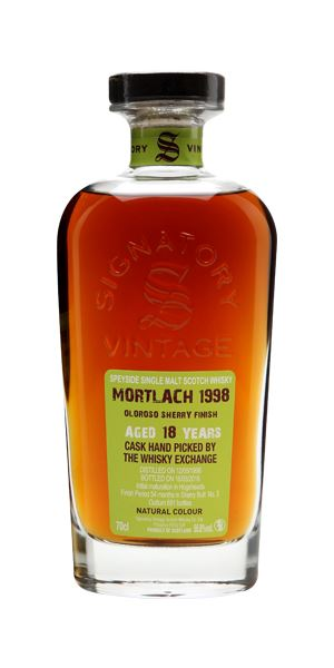 Mortlach 1998, 18 Years Old (Signatory for The Whisky Exchange)