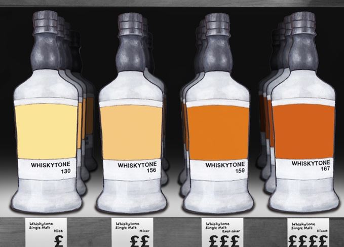 Macallan's 'colours' range