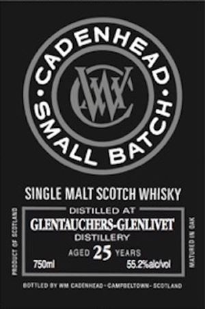 Glentauchers 25 Year Old Small Batch (Cadenhead)