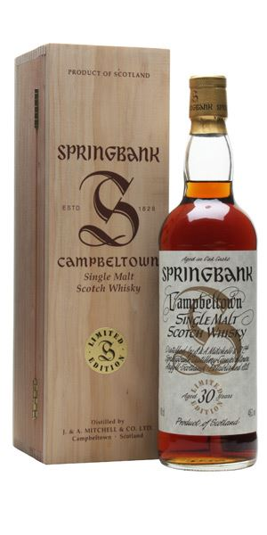 Springbank 30 Years Old