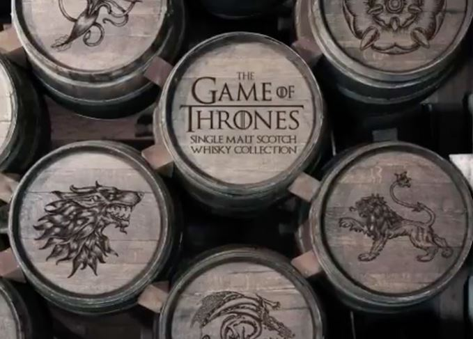 Game of thrones single malt collection