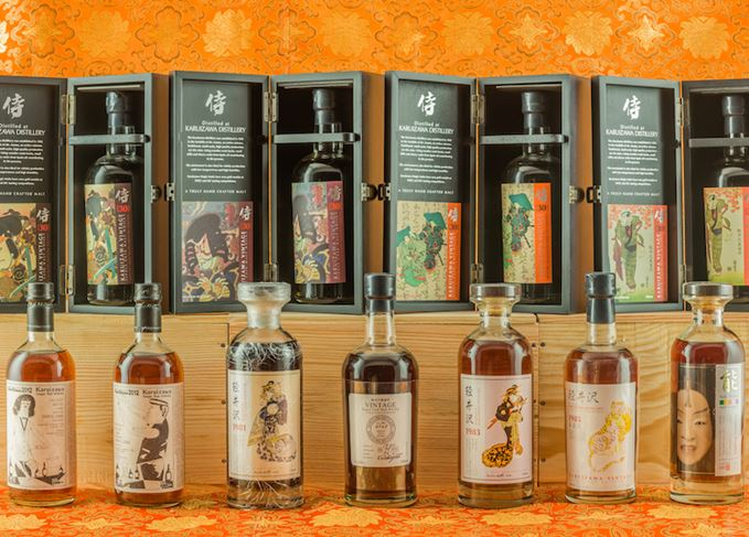 Karuizawa malts at auction