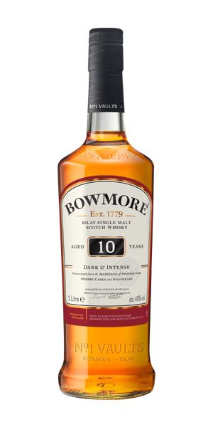 Bowmore 10 Years Old: Dark and Intense