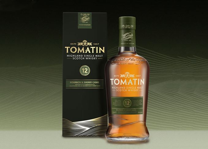 Tomatin 12 Year Old redesign