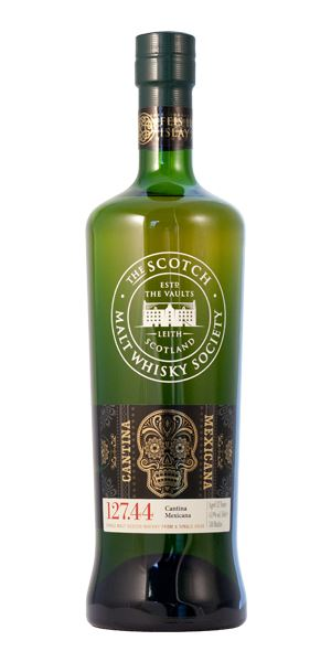 127.44: Cantina Mexicana 12 Years Old (SMWS)