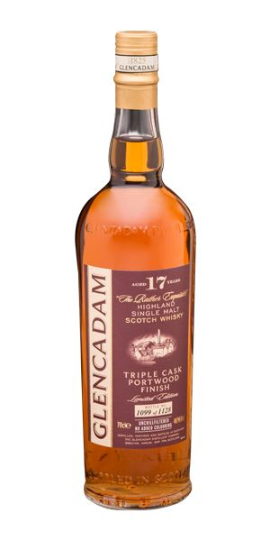Glencadam 17 Years Old, Triple Cask Port Wood